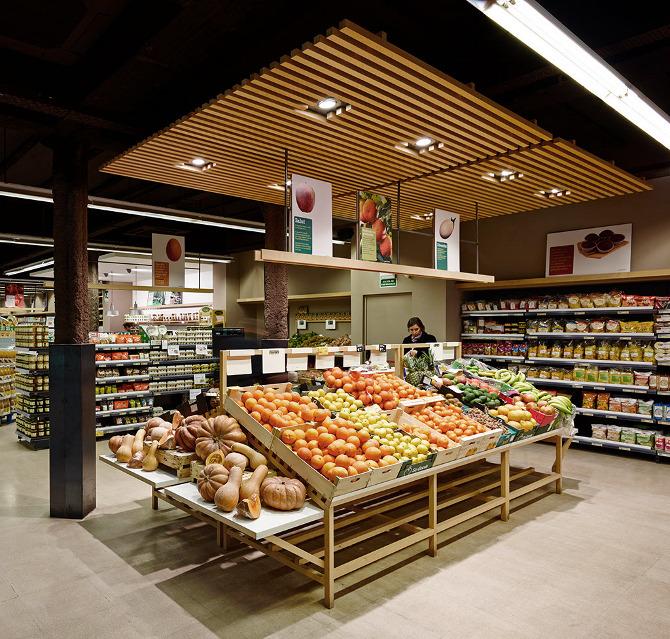 Supermercados ecol gicos una tendencia al alza en espa a - Luz de vida productos ecologicos ...